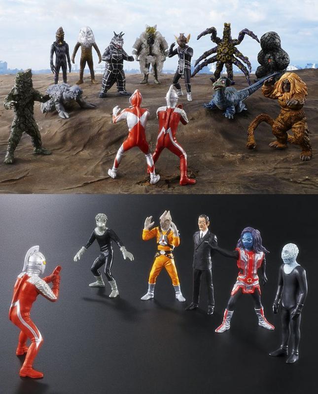 HGシリーズ ウルトラマン•ウルトラセブン怪獣コンプリート計画 完結セット