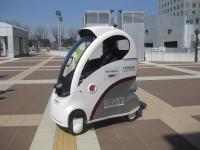 【S40News!】歩道を自律走行する一人乗りロボット。