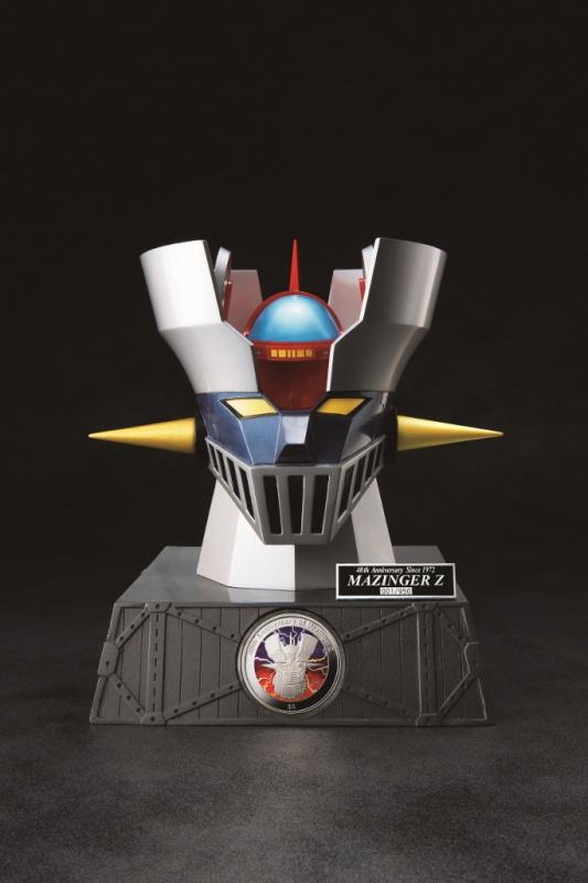 マジンガーZ 誕生40周年 公式記念銀貨 1/20精密モデル 合金マジンガーZ スーパーデラックスセット