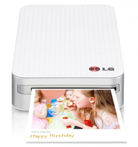 LG smart mobile printer