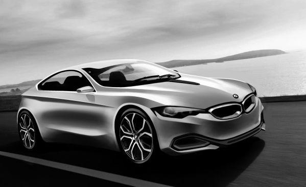 BMW 4シリーズクーペ イメージスケッチ