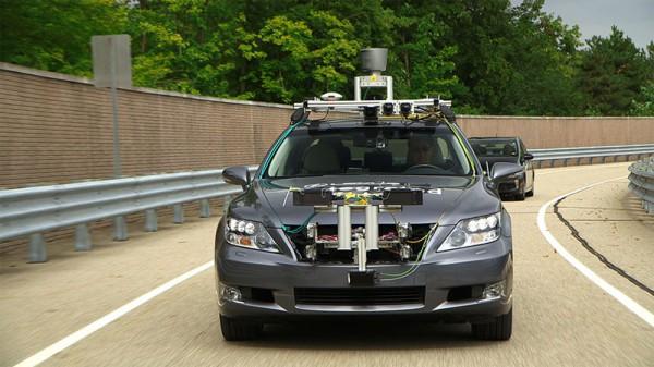 トヨタ 自動運転技術の実験車