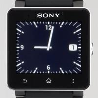 5つのテーマから時計のデザインを選ぶことができる