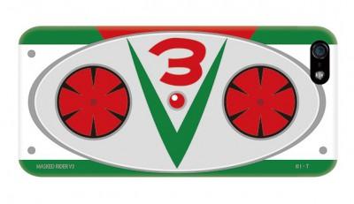仮面ライダーV3のベルトをモチーフに。食指の動いた人は公式Webサイトをチェックしてみてほしい。