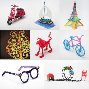 『3Doodler』で作成した立体アート