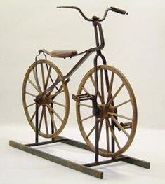 明治時代の子供用自転車
