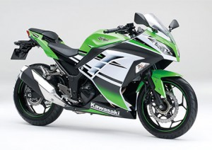 Ninja 250 ABS Special Edition_02 ライムグリーン×パールスターダストホワイト