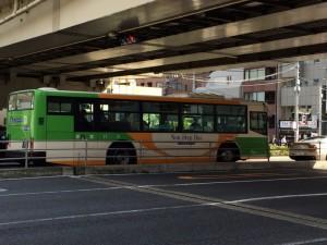 あくまでイメージカット(苦笑)。会社近くを走る都バスで、ちなみに使うこなすと便利な路線は多い