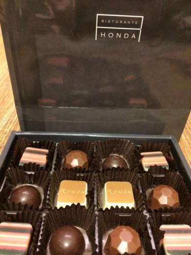 ホンダ製チョコ