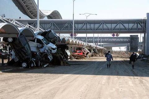 被災時の仙台空港