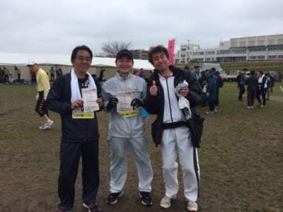 3月に走ったハーフマラソン完走後のタメ年トリオだ。この後の宴は後半覚えちゃい無いほど盛り上がった