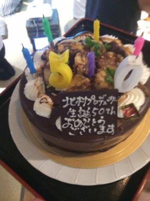先日行なわれた『福岡博多秘密基地』で僕を泣かせたサプライズケーキ