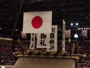 2年前の今頃に生まれて初めて国技館で相撲観戦した。14日目でもちろん満員御礼