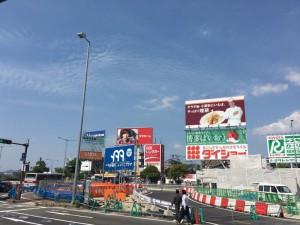 なんてことない風景ながら、旅の起点になる福岡空港前。ここに来ると毎度心躍り、去るときはさみしい気持ちになる