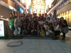 今日年開催した『第2回 福岡博多秘密基地』参加者たちの集合写真