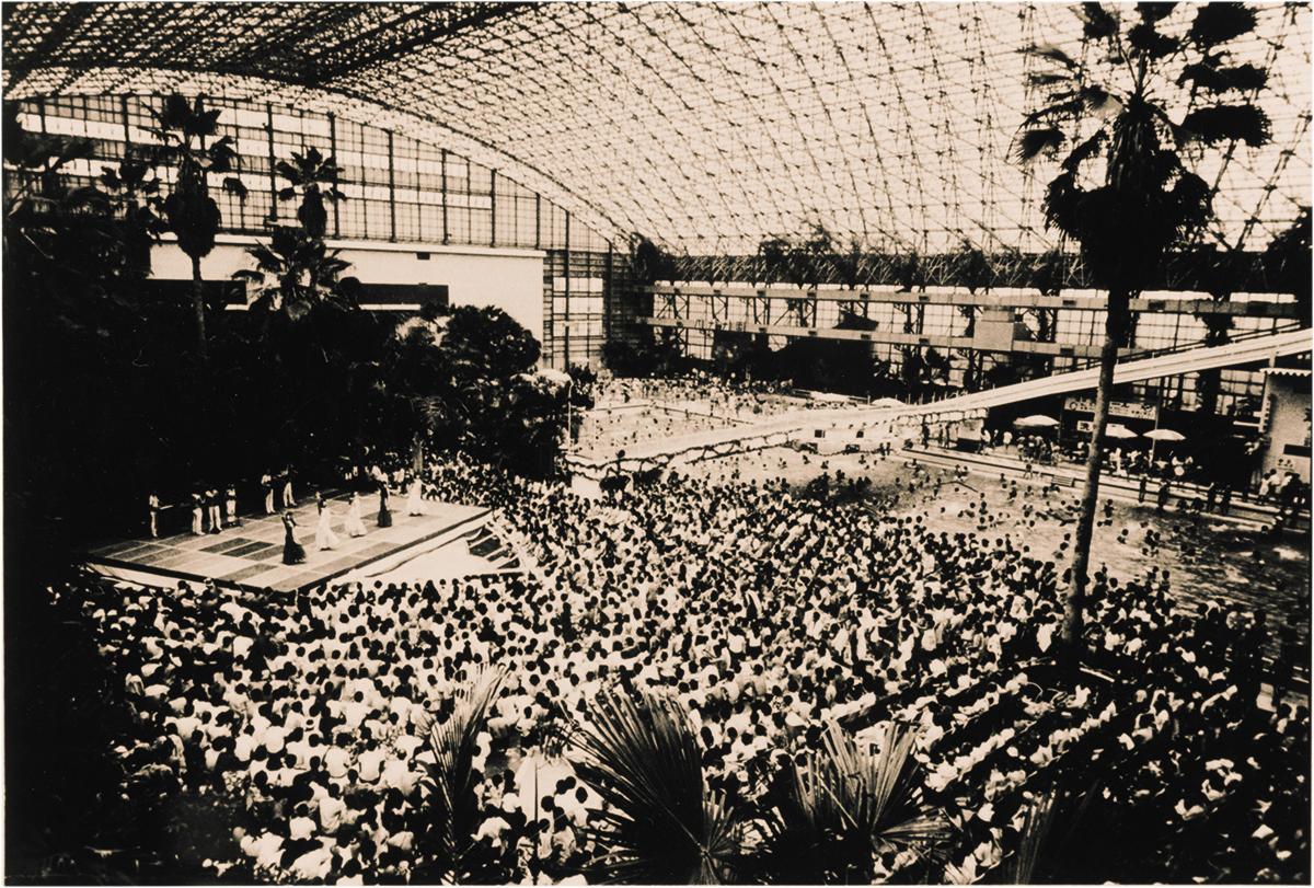 昭和41年1月に開業した『常磐ハワイアンセンター』