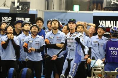 ヤマハファクトリーレーシングチーム ピット
