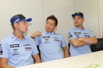 ヤマハファクトリーレーシングチーム ライダー