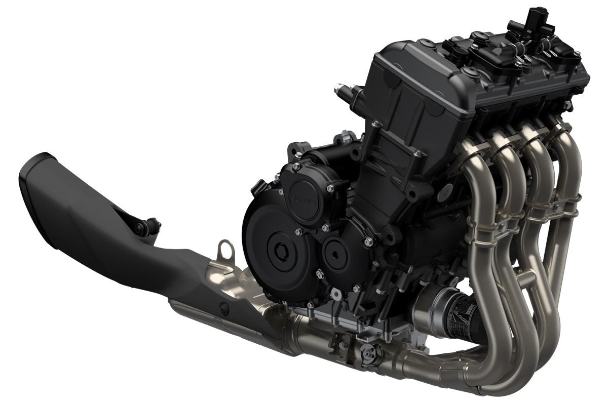 スズキ 新型KATANAの直列4気筒エンジン