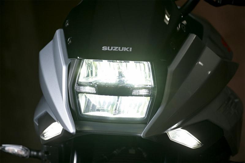 スズキ 新型KATANAのLEDヘッドライト