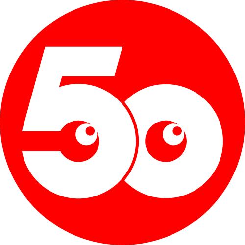 「50」ロゴ