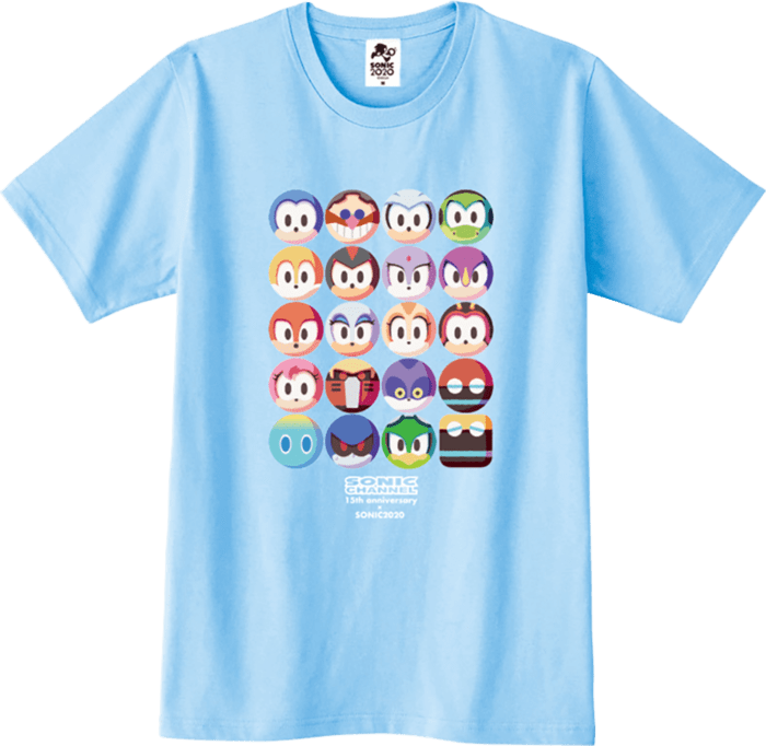 「SONIC CHANNEL」 15周年記念Tシャツ