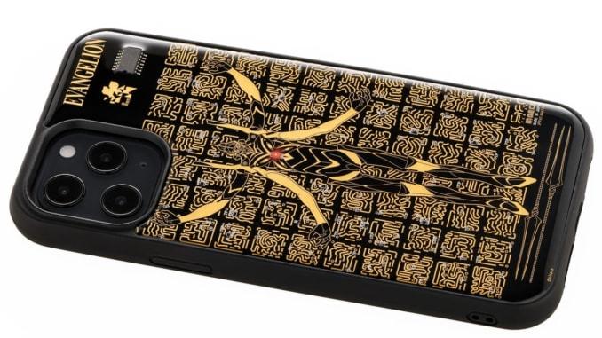 FLASH EVA13 基板アート iPhone 12Pro Maxケース 黒