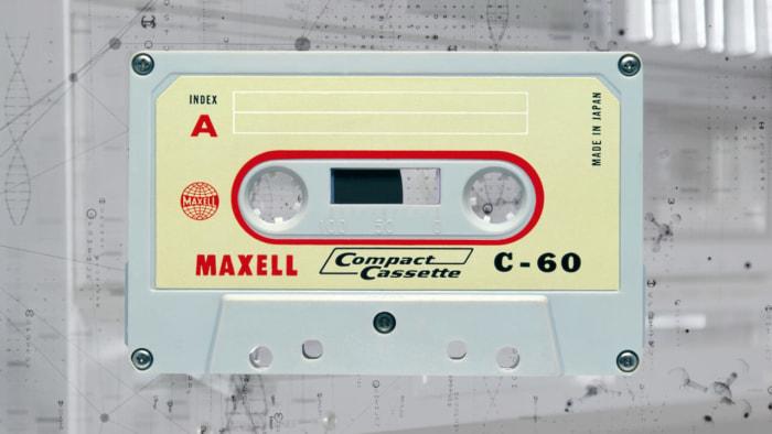 1966年、国産初で商品化したコンパクトカセット